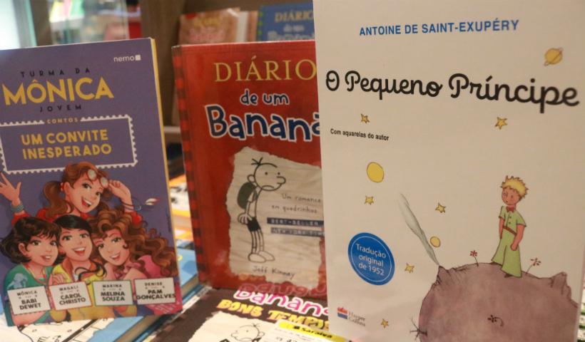 Livros infantojuvenis para incentivar os pequenos