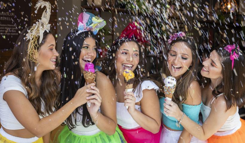Novos gelatos da San Paolo para refrescar o Carnaval