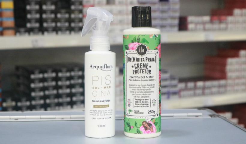 Debaixo do sol: dicas de protetores  para cuidar dos cabelos