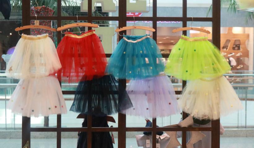 Saias tutu para colorir o Carnaval dos pequenos