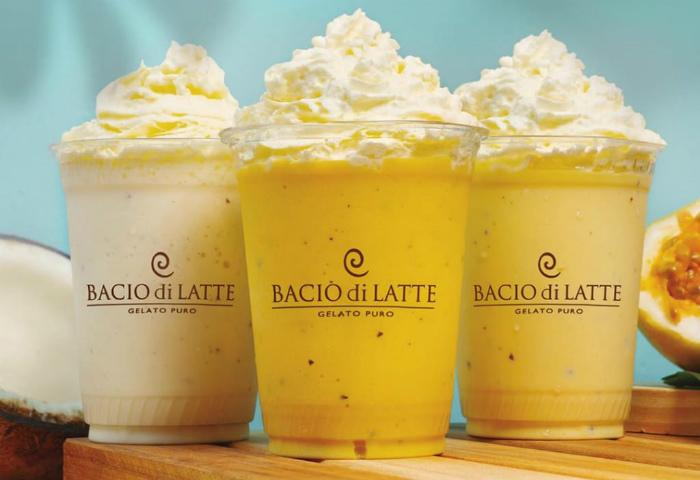Bacio di Latte lança milkshakes com sabores do verão