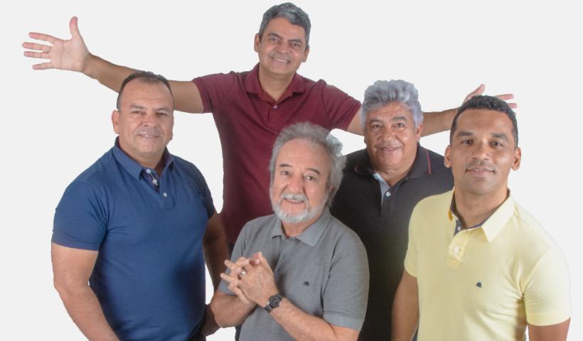 Quinteto Violado faz show em homenagem à Data Magna
