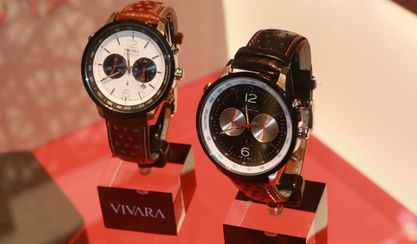Novos relógios da Vivara para quem ama Automobilismo