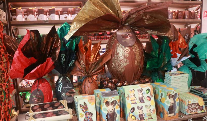 Ovos de Páscoa já disponíveis nas lojas do RioMar