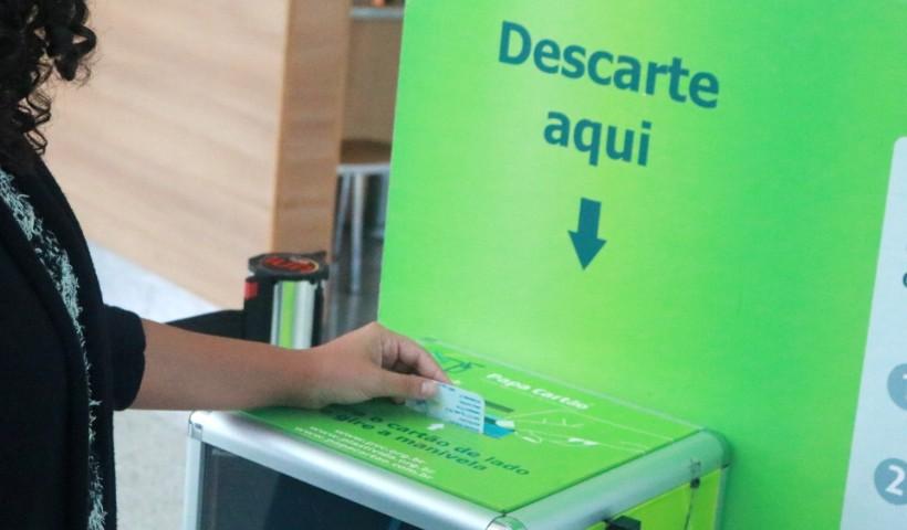 Pilhas ou cartões para jogar fora? Descarte corretamente no RioMar