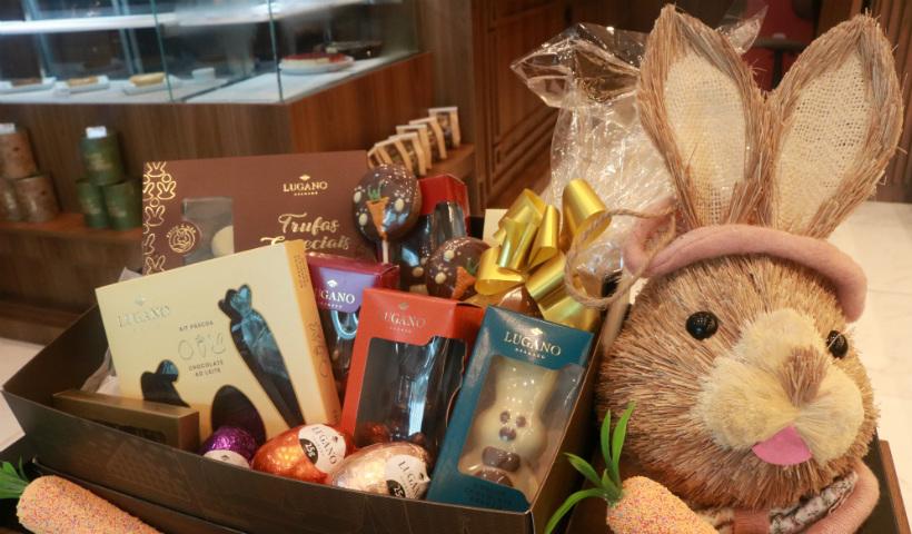 Chocolates Lugano para adoçar sua Páscoa