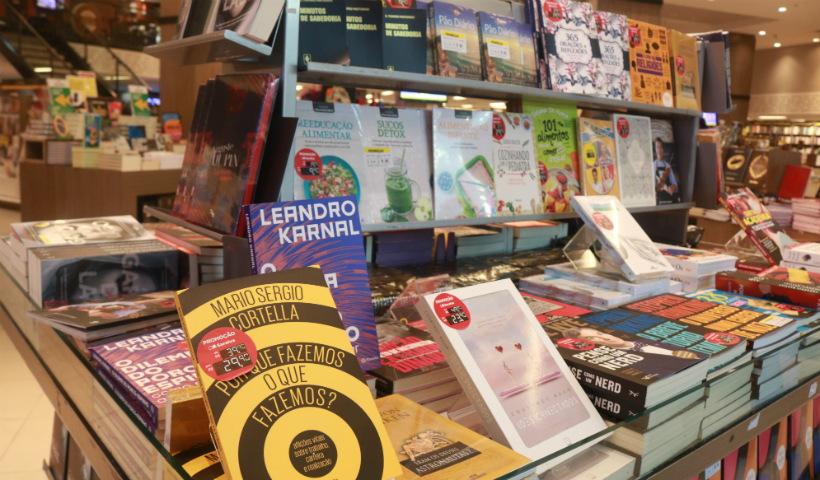 Saraiva traz estande de livros na Semana do Consumidor