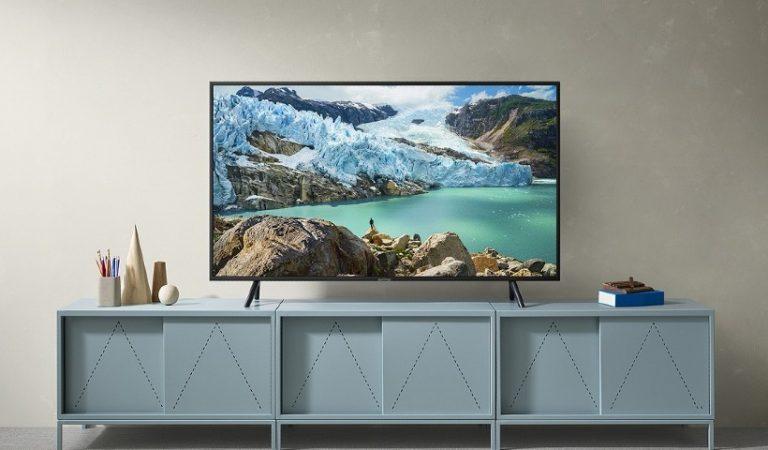 Foto de ambiente com TV.