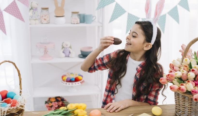 Páscoa para a criançada com ovos e chocolates temáticos