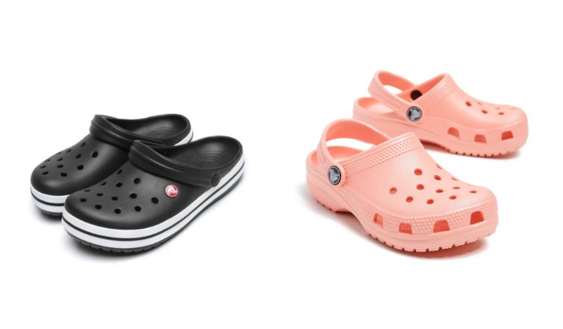 Conforto no pé: Crocs agora com delivery e entrega grátis