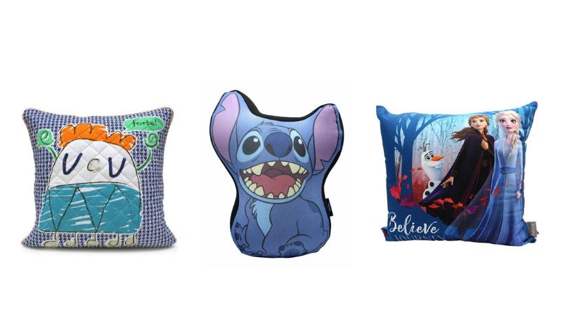 Almofadas fofinhas para decorar a casa no RioMar Online