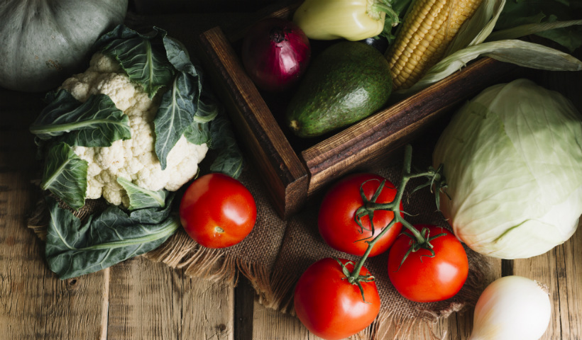 Alimentos das cores: quanto mais colorido, melhor