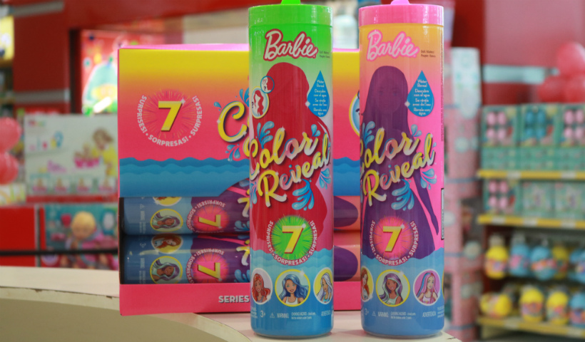 Barbie Color Reveal é a sensação do momento entre as crianças
