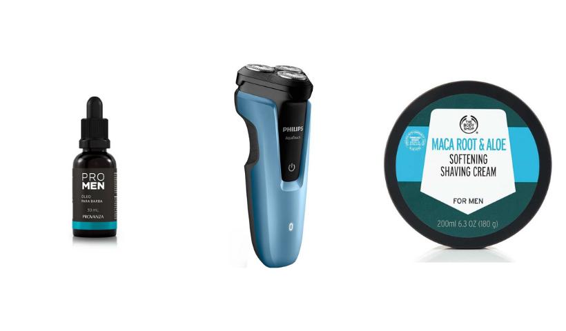 RioMar Online: produtos para deixar a barba no ponto