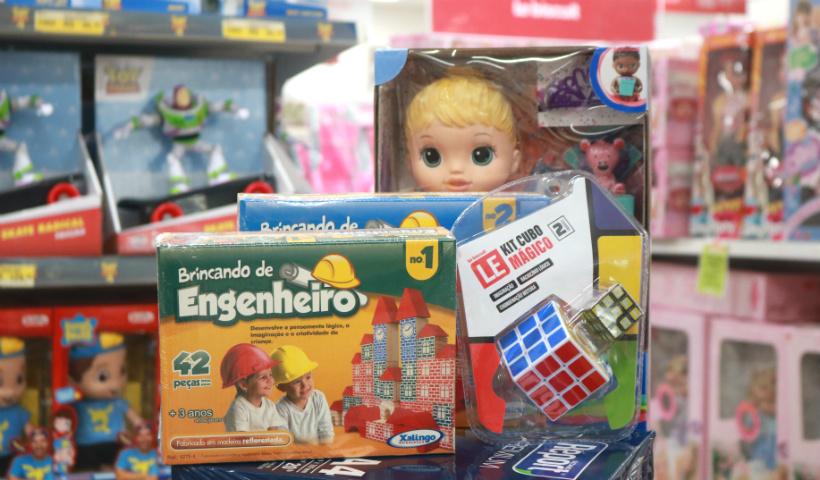 Vamos brincar? Brinquedos para todas as idades no RioMar