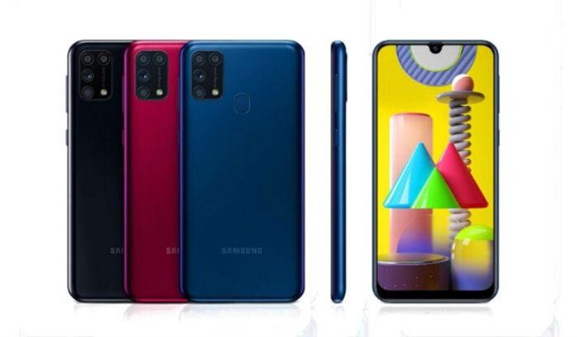 Novo Samsung Galaxy M31 promete bateria que dura até 2 dias