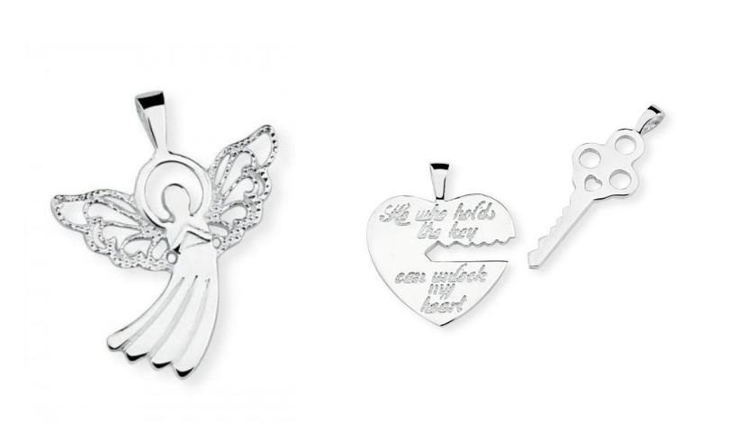 Na pulseira ou no colar, escolha seu pingente com frete grátis