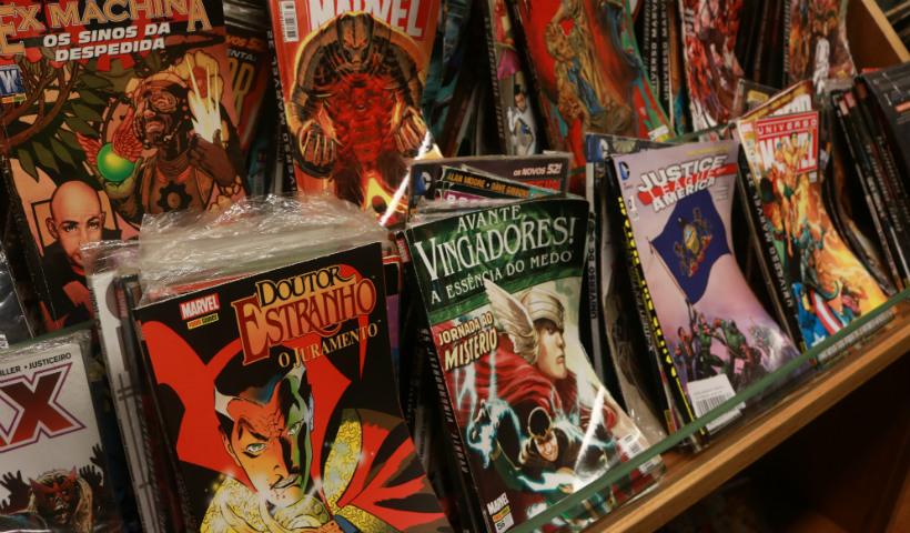 De camisas a HQs: Livraria Cultura reúne universo geek no RioMar