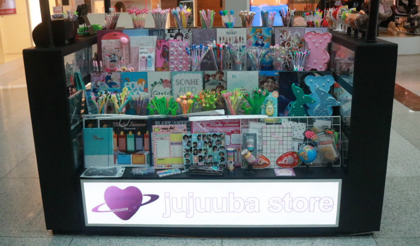 Quiosque Jujuuba Store inaugura no RioMar Recife