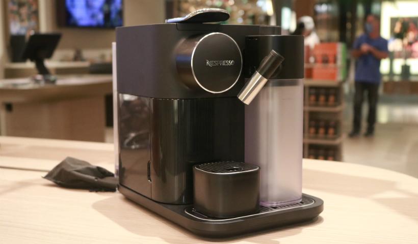 Máquina Gran Lattissima é novidade na Nespresso do RioMar