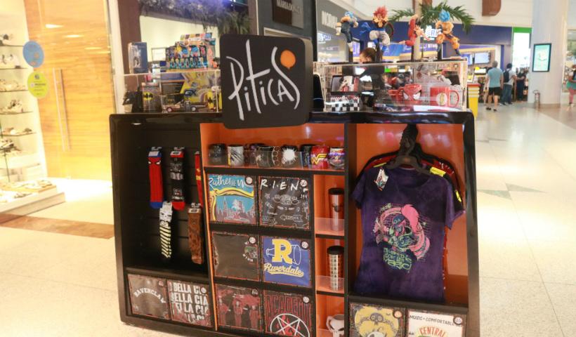 Quiosque Piticas: de colecionáveis a camisas geek