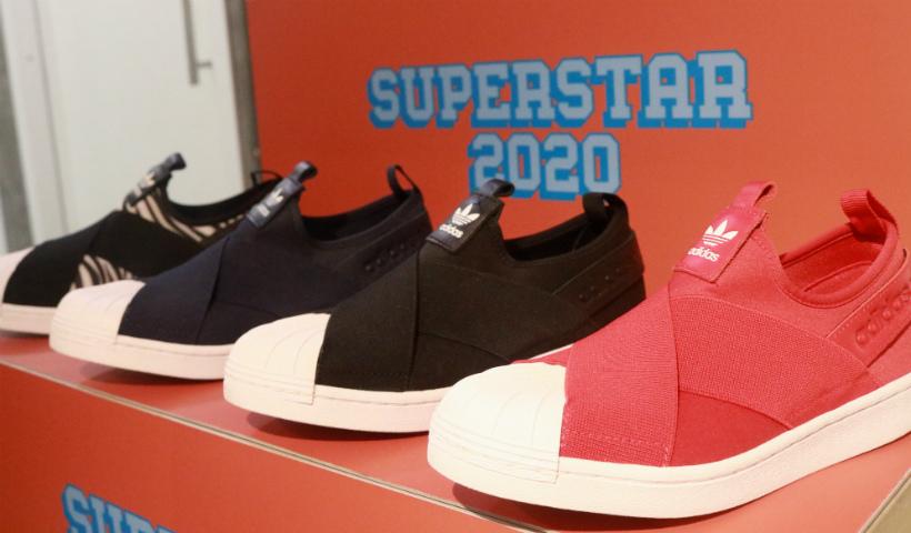 Adidas Originals destaca o tênis Superstar Slip On