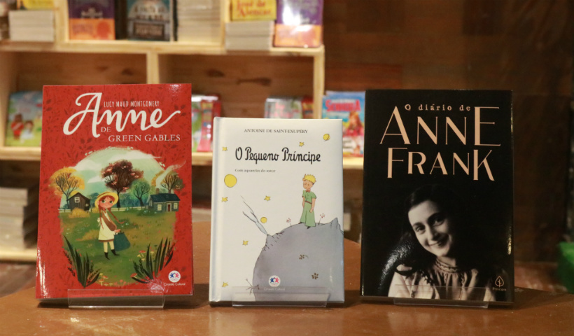 """""""Eu Amo Ler"""" traz de Anne Frank ao Pequeno Príncipe"""