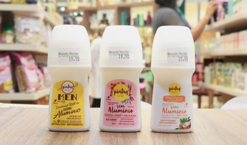 Desodorantes naturais: já ouviu falar? Veja os benefícios
