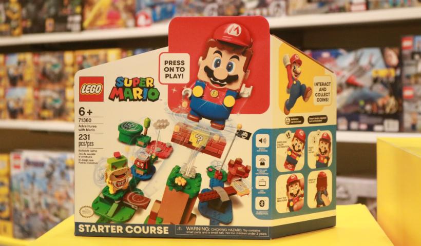 Lançamento Lego Super Mario chega para divertir a criançada