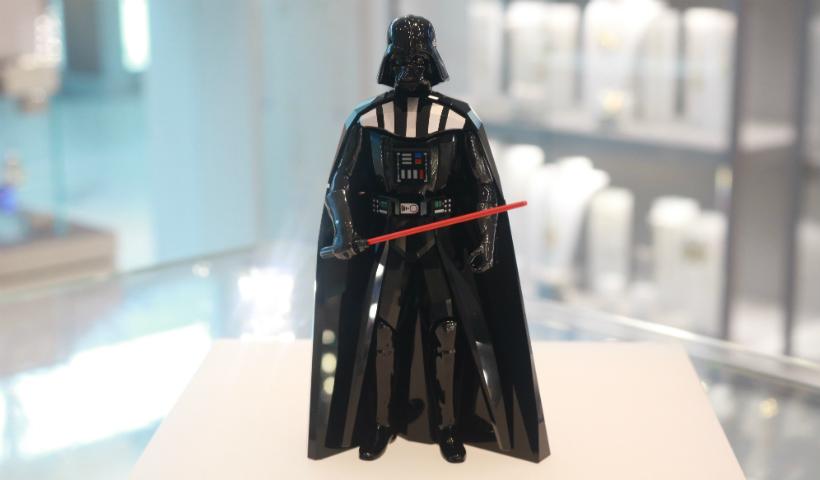Darth Vader em cristal? Swarovski mostra como é possível