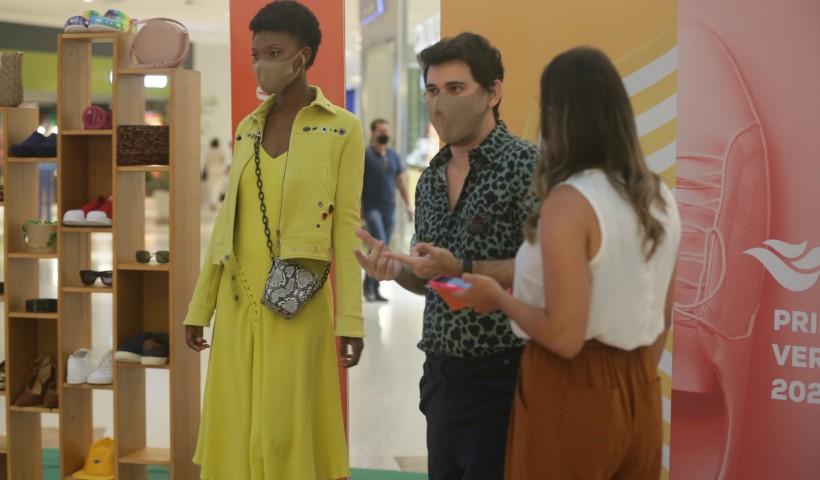 Moda e interação ao vivo na Live Passarela RioMar 2020