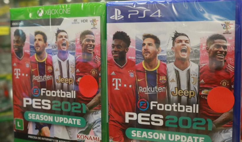 Games: PES e FIFA 2021 disponíveis para os amantes de jogos