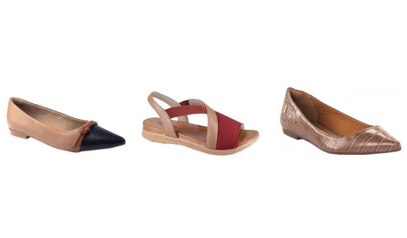 Sapatilhas ou sandálias? Escolha o seu estilo