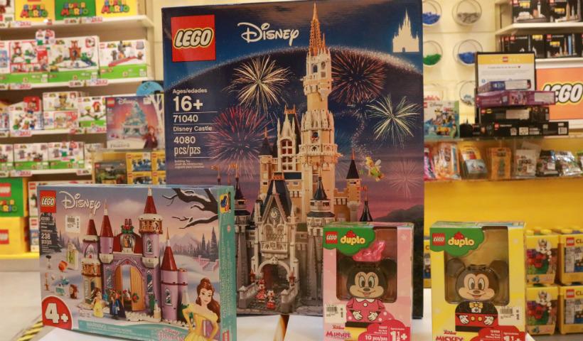 Lego: universo Disney encanta a criançada