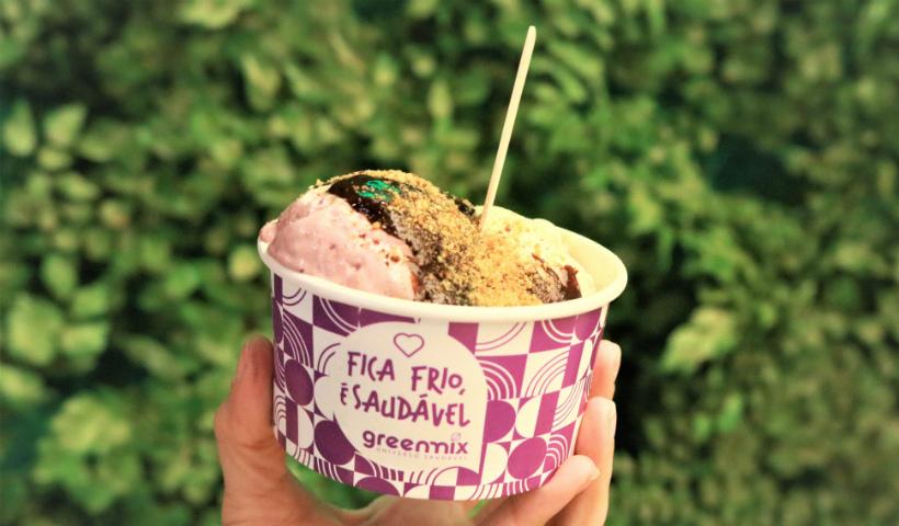 Está de dieta? Greenmix tem sorvete saudável para você