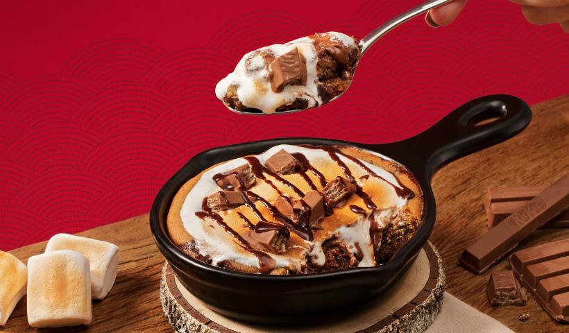 Outback anuncia nova sobremesa com KitKat
