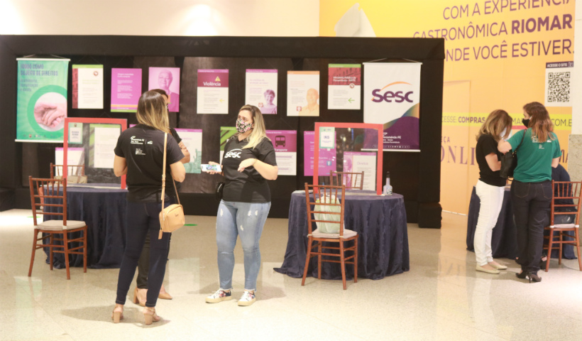 Dia Internacional do Idoso: Sesc Pernambuco faz ação no RioMar