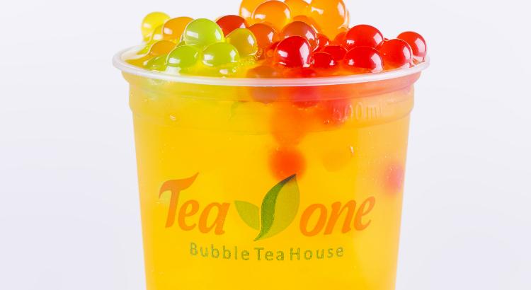 Monte o seu chá de bolhas da Tea One no RioMar Online