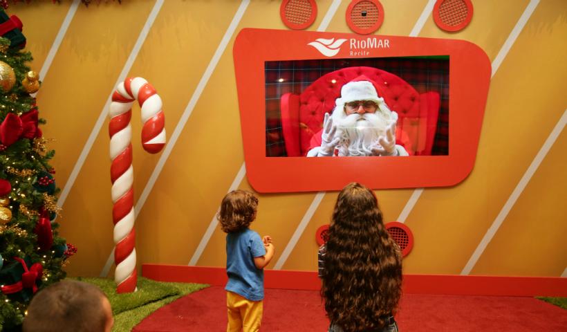 Noel Digital fascina crianças e adultos em encontro virtual