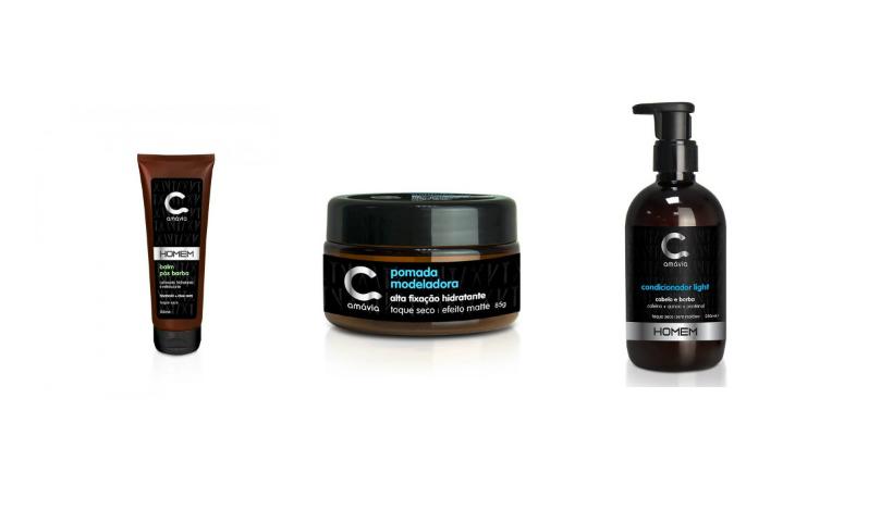 Amávia: cosméticos para eles disponíveis no RioMar Online