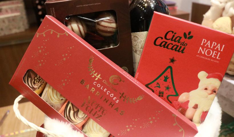 Planeta Bombom destaca chocolates de Natal