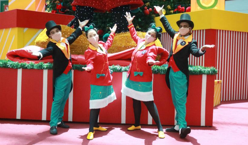 Atores revelam a magia e o encanto do Natal RioMar