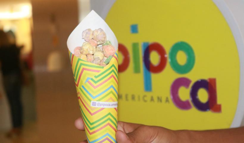 Pipoca Americana inaugura com mais de 20 sabores no RioMar