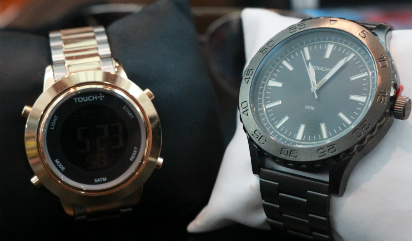 Black Friday da Touch com relógios e óculos estilosos