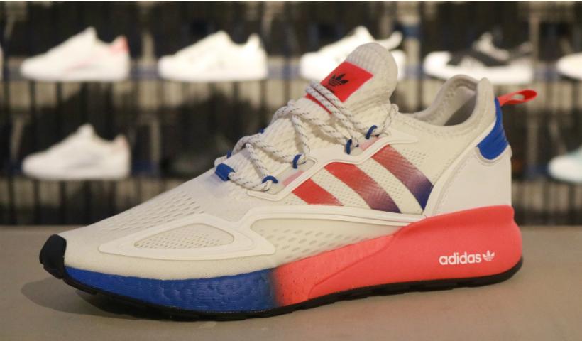 Lançamento Zx Boost faz sucesso na Adidas Originals