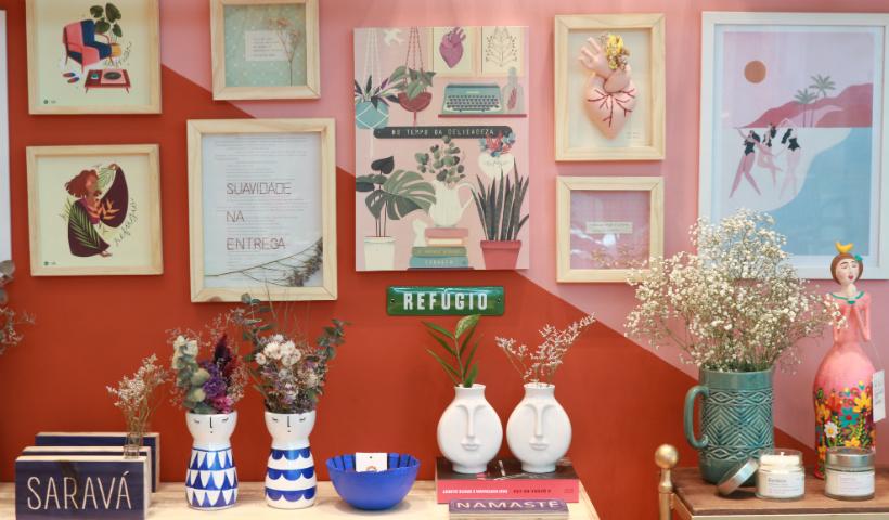 Casa Viva enche de beleza e originalidade a loja no RioMar