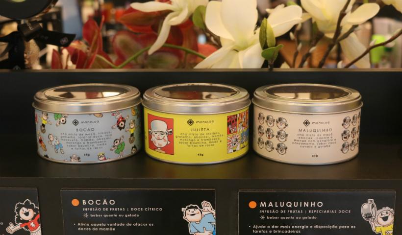 Menino Maluquinho inspira coleção de chás infantis na Moncloa