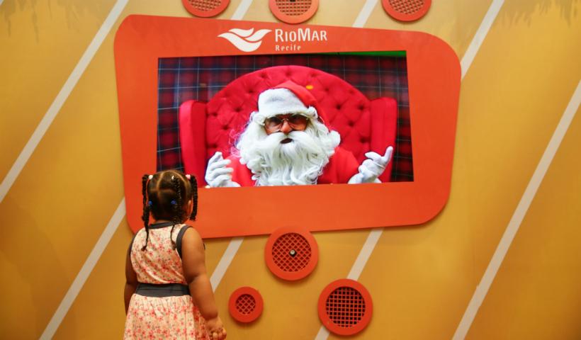 Já veio falar com o Papai Noel? Veja o horário do Noel Digital
