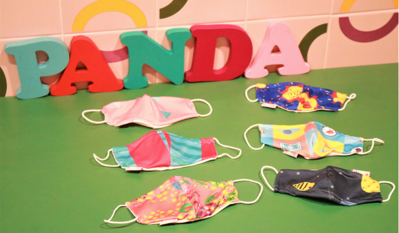 Praia ou piscina? Máscara da Panda Pool vem com proteção UV