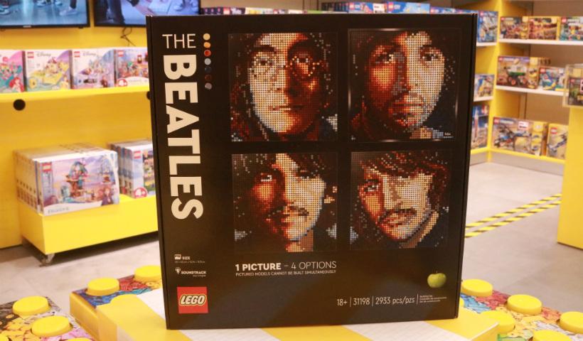 Lego inova com Beatles e Marilyn Monroe em nova coleção